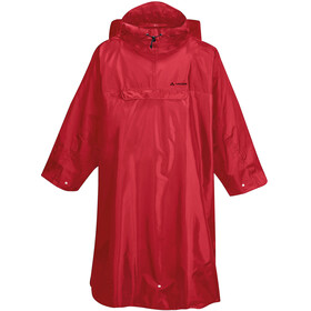 VAUDE Hiking Backpack Poncho, indian red